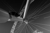 Black and White 055 - London Eye