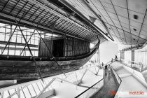 Black and White 037 - Cheops boat museum