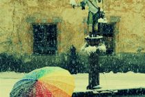 Cross processing 007 - Rainbow umbrella