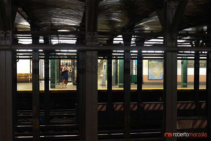 Waiting - New York Subway